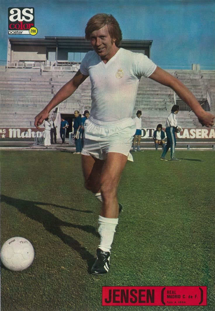 266 - Jensen (Real Madrid Club de Fútbol).