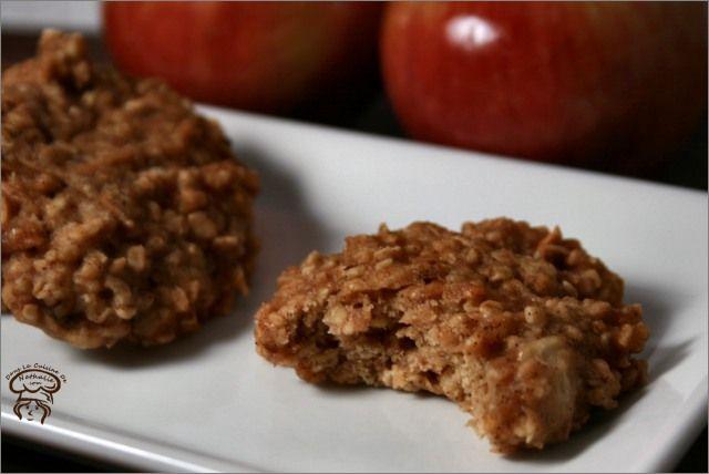 Ces galettes à l'avoine etaux pommes sont excellentes, elles ne durcissent pas en refroidissant! En plus d'avoir un délicieux petit goût qui rappelle un peu la croustade aux pommes, ces galettessont tout à fait santé et faible en gras. Aussitôt…