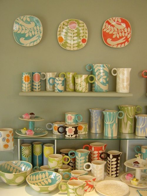 Gorgeous Ken Eardley items on display at The Yellow House Art - http://www.yellowhouseart.com.