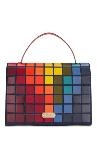 Bathurst Giant Pixels Satchel by ANYA HINDMARCH for Preorder on Moda Operandi