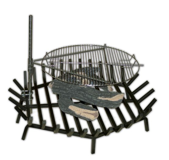 GRATE GRILLER™ Fire Pit Cooking Accessory
