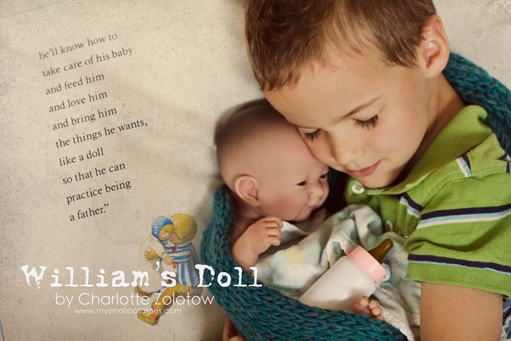 Amazing post about the value of teaching boys to care for baby dolls. Heartwarming, to say the least.