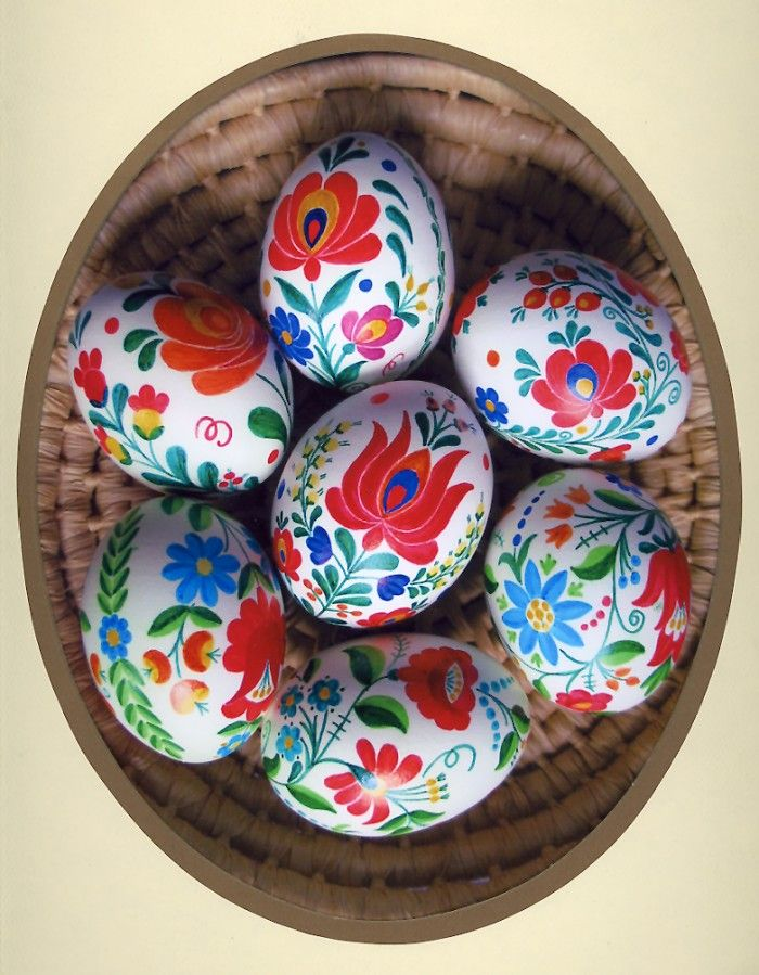 matyó hand-painted easter eggs from Hungary. I would love a bowl of these eggs! They are so bright and cheery.