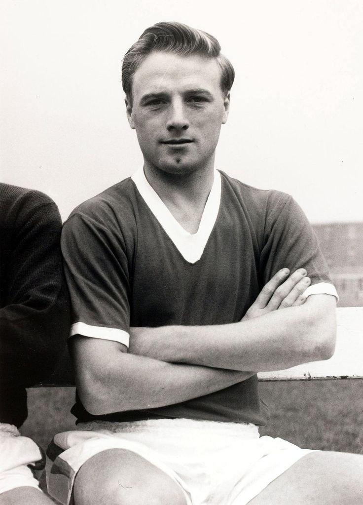 Albert Scanlon, a Busby Babe & survivor of the Munich air disaster.