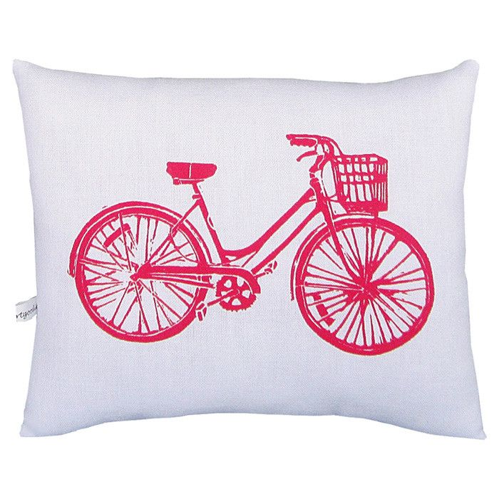 Bike Block Pillow