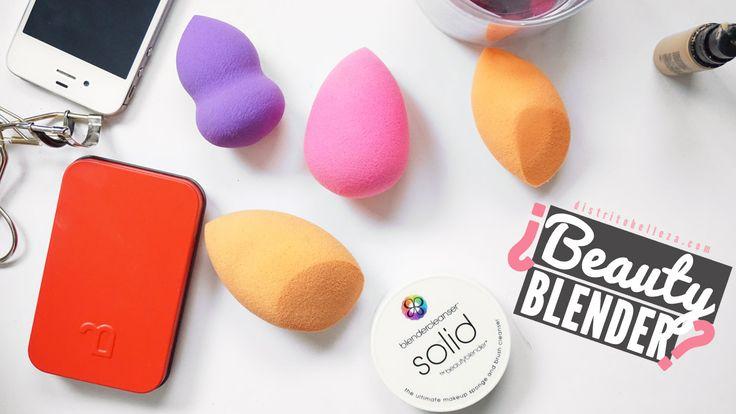 Las esponjas para maquillaje de distintos colores y formas estuvieron en muchas partes el año pasado, hoy te decimos todo de la esponja beauty blender, re..