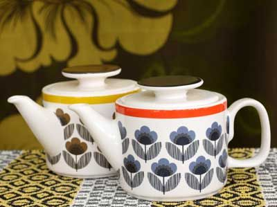 Orla Kiely Teapots