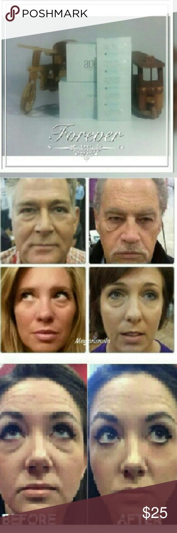 10 sachets - Instantly Ageless Just Try It Amazing LOOK 10 Years Younger ! *Work in 2 minutes or less *Results last 6-8 hours/ time *Each application provides 1-3 time *Each sachet is 0.3 ml BENEFIT  -Reduce the appearance of under-eye bags immediately -Visibly diminishes the appearance of fine lines and wrinkles -Tighten,firm and lift the appearance of sagging skin Receive : 10 sachets Jeuness Makeup Eye Primer