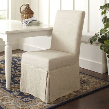 Neville Slipcovered Side Chairs (Set of 2)