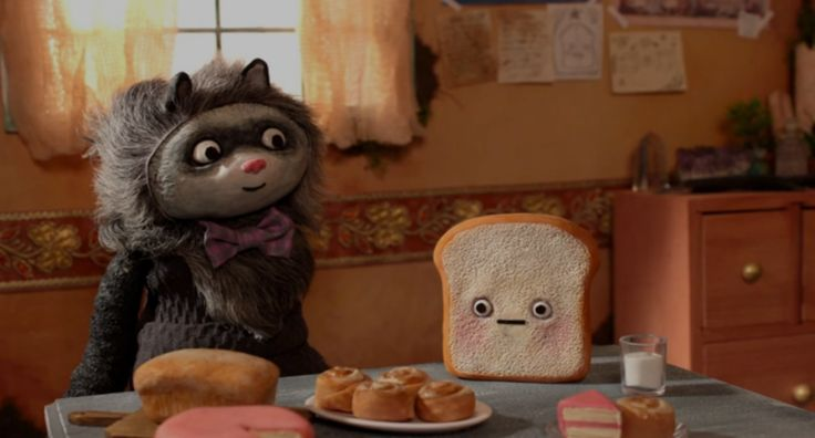 Peak Condition is an interview-style short film about a delusional slice of toast and a naive but well-meaning raccoon. The maladjusted pair inhabit a universe in which Toast's unusual ideas about reality reign supreme. A film by Laura Jane Favela