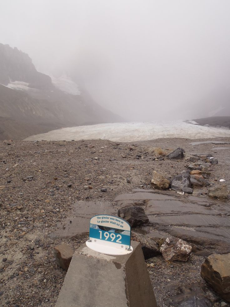Receding Columbia Icefields...