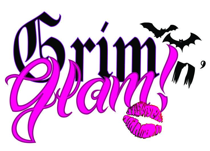 Marchio Grim n' Glam. Grimm perchè sono appassionata di Horror e Glam perchè non si è niente senza un po di GLAMOUR!