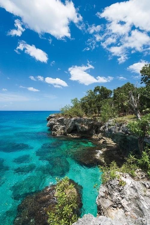 Cliffside in Jamaica