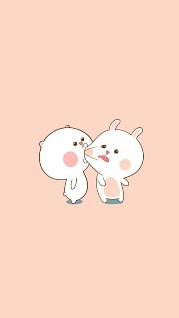 25 best ideas about cute couple wallpaper on pinterest - Kawaii anime iphone wallpaper ...