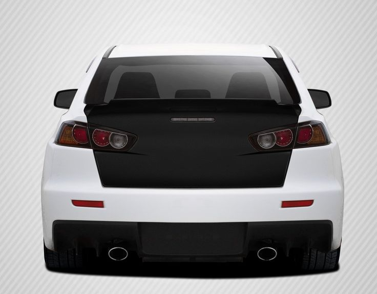 2008-2017 Mitsubishi Lancer / Lancer Evolution 10 Carbon Creations GT Concept Trunk - 1 Piece