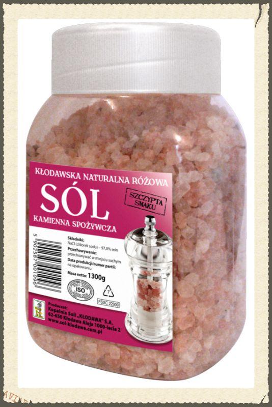 Sól różowa spożywcza Sól nie z tej ziemi