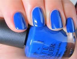 "MY new favorite OPI nail color.... ""dating a royal"" :)"