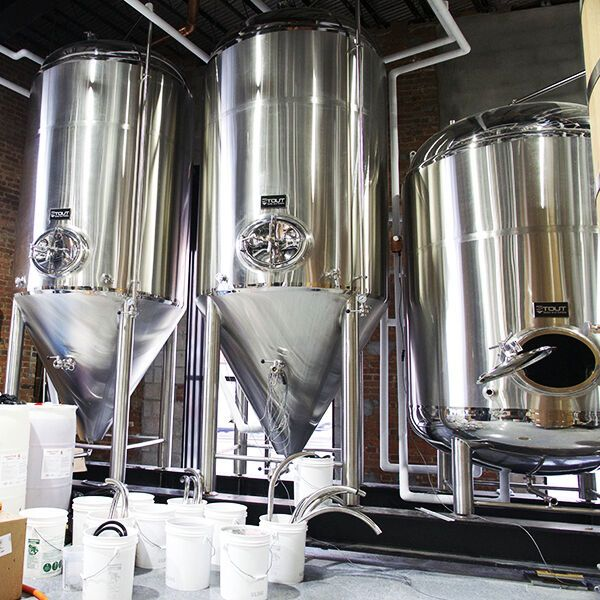 20 Bbl Custom Built Brewhouse In 2020 Brewhouse Brewing Equipment Custom Build