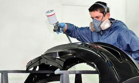 #Servizio di riparazione e verniciatura auto  ad Euro 79.90 in #Groupon #Services