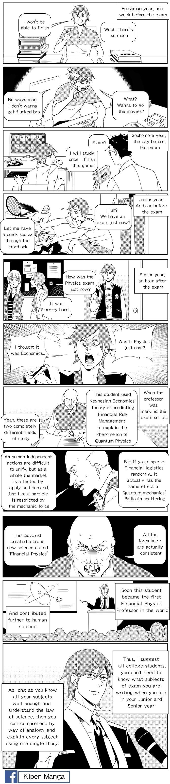 Kipen Manga-The exam