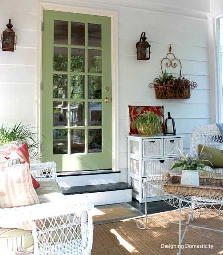 Front Home Decor Deas: 105 Best Images About Front Door/Porch Summer Decor On