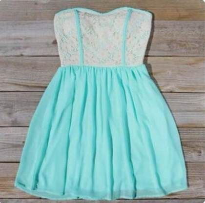 Nice cute strapless summer dresses for juniors 2017