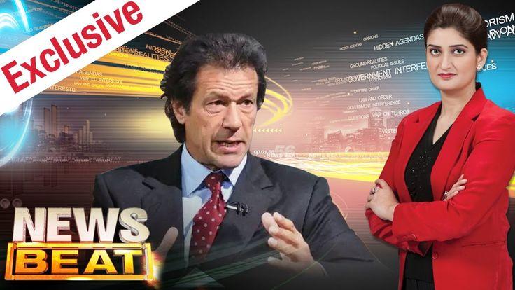 Imran Khan Exclusive   News Beat   SAMAA TV    Paras Jahanzeb   14 Oct 2016