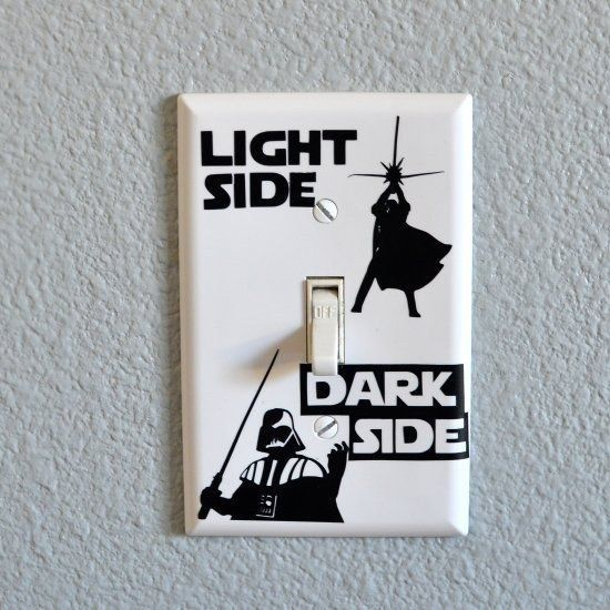 Show them the path back to the light. | 21 Things You Need For The Perfect Star Wars Nursery