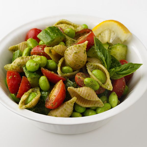 WeightWatchers.fr : recette Weight Watchers - Salade de pâtes au pesto