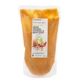 Fresh Spanish Chorizo & Bean Soup 600g | Woolworths.co.za