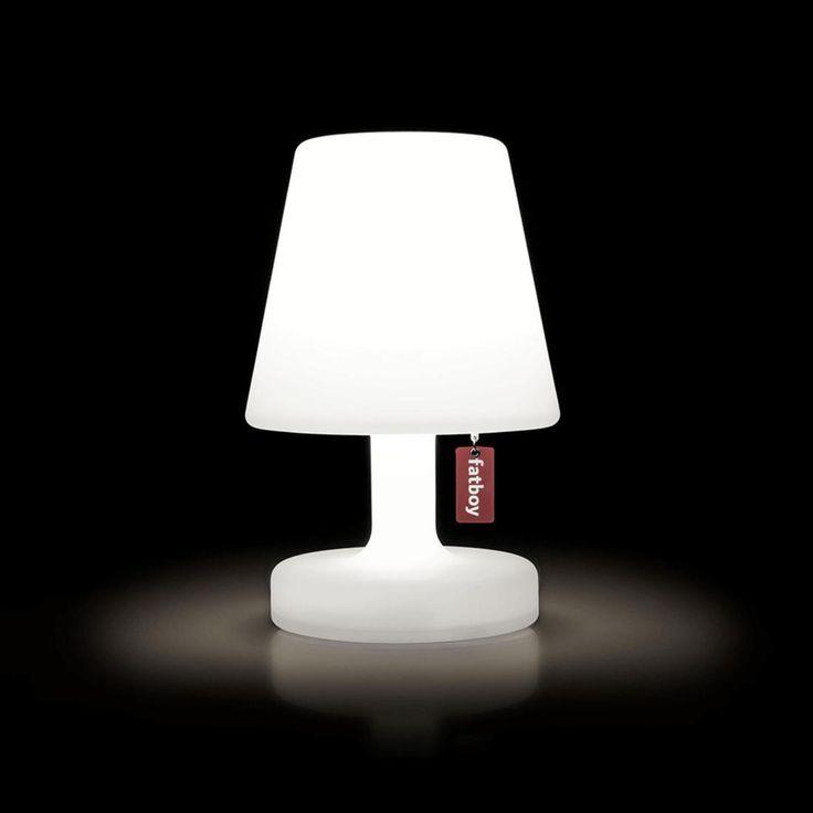 Schön Lampe à Poser LED Rechargeable Blanc H25cm   EDISON THE PETIT
