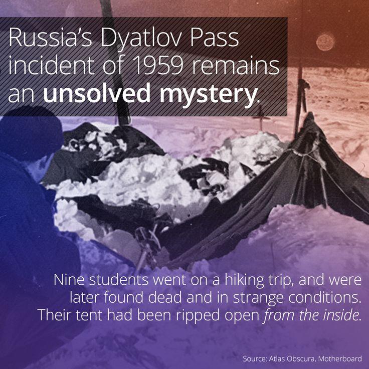 The Horrifying Mystery Of The Dyatlov Pass Incident