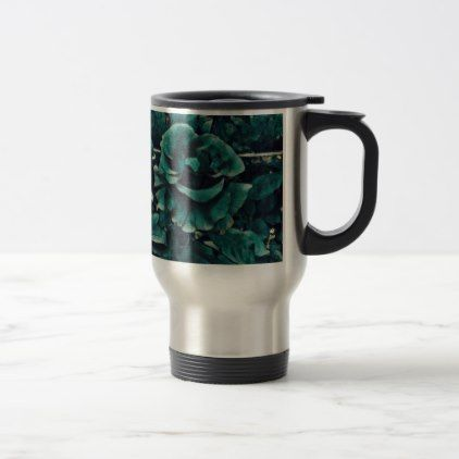 Blue Rose - Painting Style - Art Gift Travel Mug - cool gift idea unique present special diy