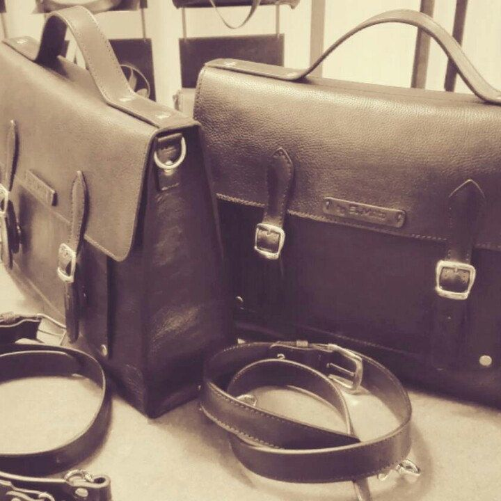 Wall Street style!!! El Mato leather briefcase!! Christmas gift idea for him!