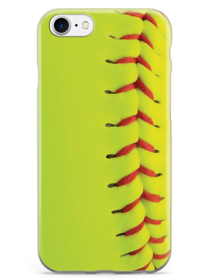 Softball Texture Case