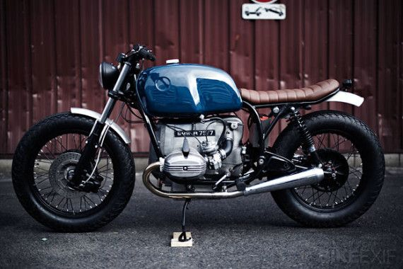 BMW R75/7 by Clutch Custom Motorcycles