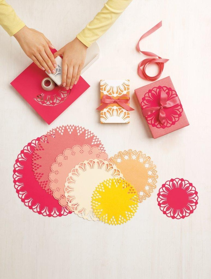 New Martha Stewart Crafts products - circle punch