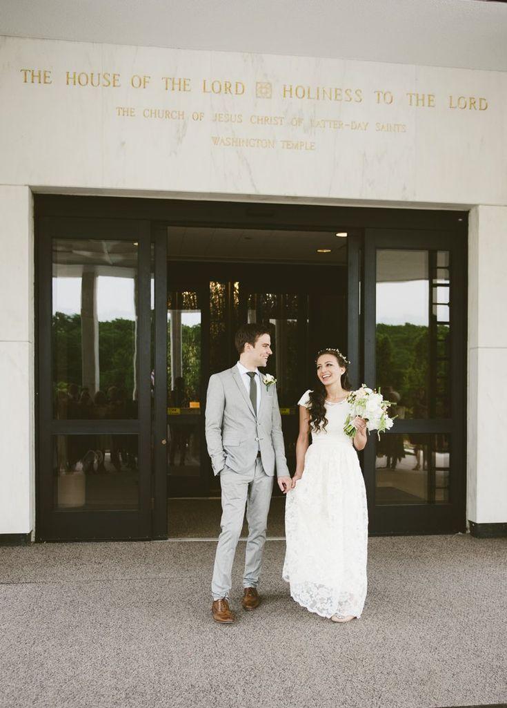 Emma & Devin: Washington D.C. Temple and The Barns at Hamilton Station Wedding