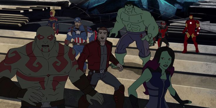 The Guardians of the Galaxy and The Avengers team up on Disney XD | Live for Films