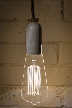 PRE-ORDER Squirrel cage CLASSIC lamp / acrylic / concrete / ambient led lamp