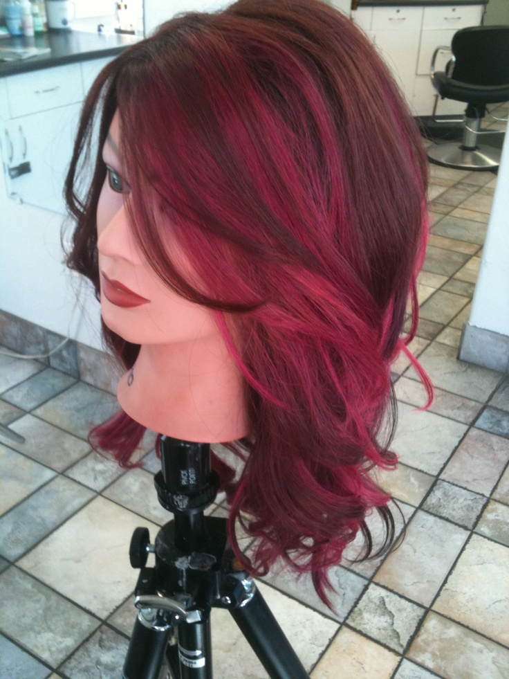 83 Best Hair Images On Pinterest Hair Color Colourful Hair And