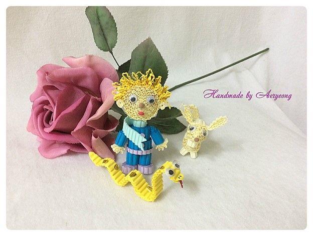 골판지로 만든 어린왕자 (아트플라워 조화공예 한지꽃 지화 종이꽃 페이퍼플라워 코사지 에바폼) : 네이버 블로그