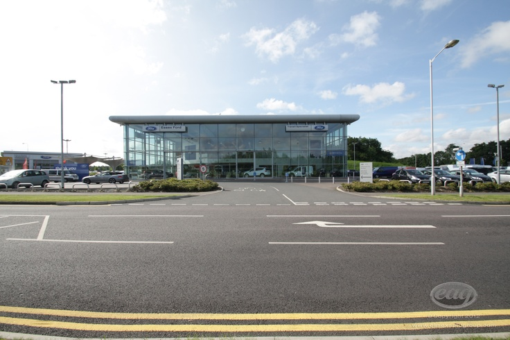 Modern architecture and technology at our Dunton dealership in Essex.