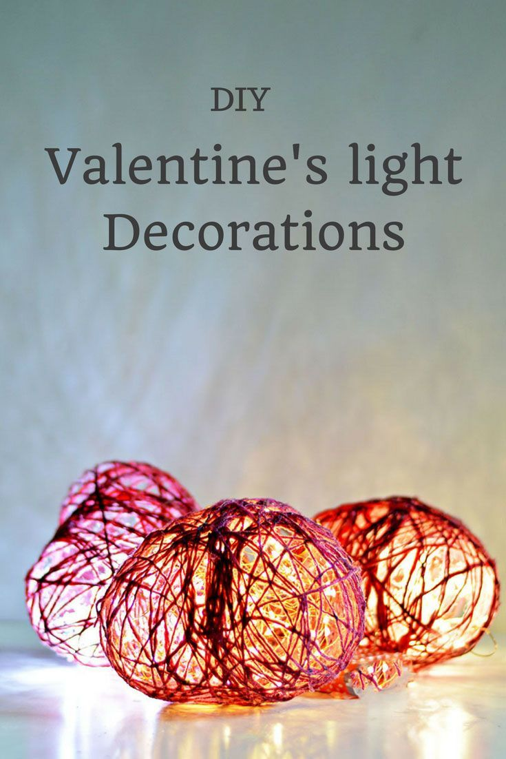 DIY Valentine's light decorations.  Make string hearts and then use copper string lights to brighten up your Valentine's decor.