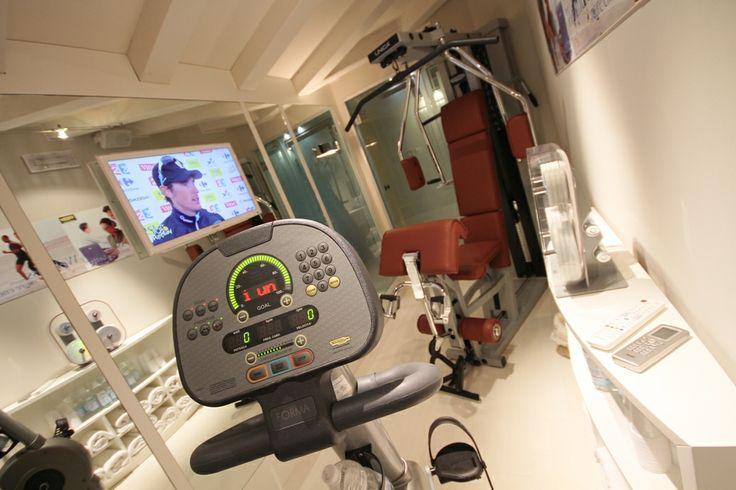 Fitness Room. Victoria Hotel Trieste