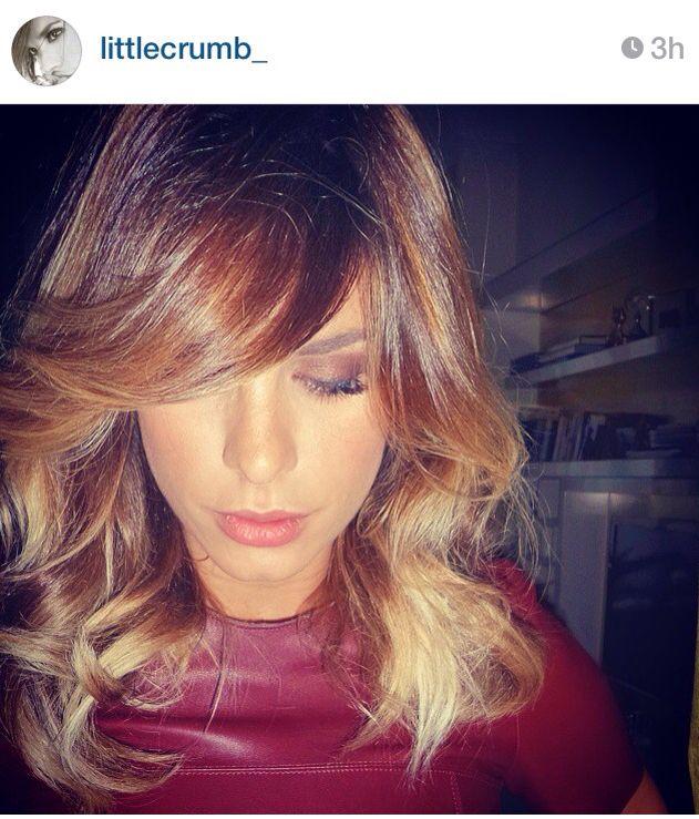 Elisabetta Canalis hair by aldo coppola