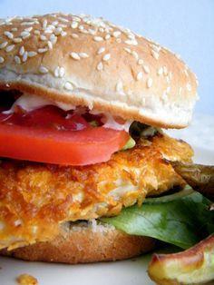 Recept voor een heerlijke, zelfgemaakte cajun kipburger - TantePollewop