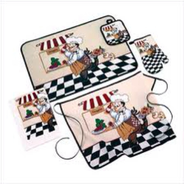 Nice Fat Chef Bon Appetit | Fat Chef Rug, Kitchen Slice Rug, Apron, Accessories