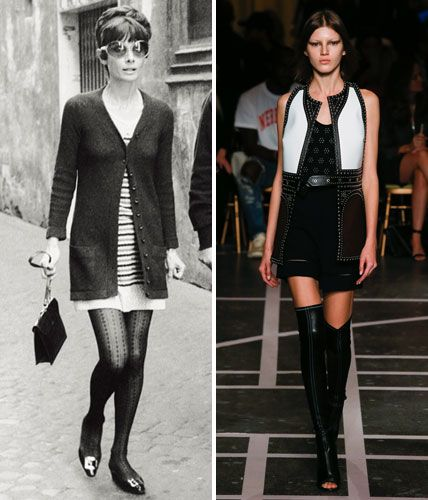Then and Now: These Sexy '70s Trends Are Making a Comeback - The Mini Shift  from InStyle.com