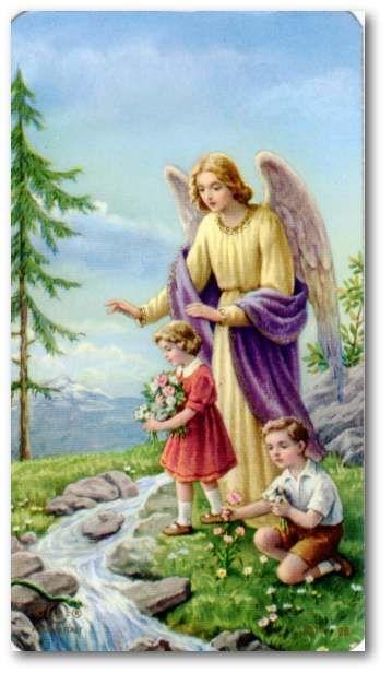 守護の天使への祈り